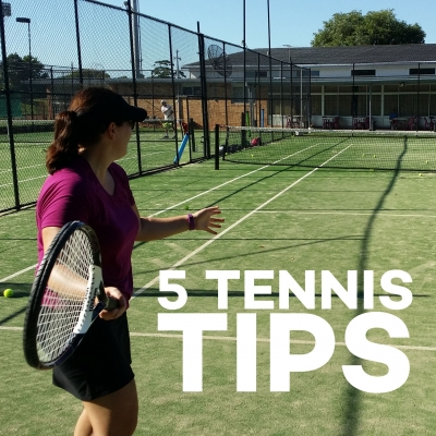 Weekly Tennis Tips From Four Seasons Tennis School